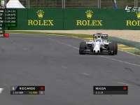 F1澳大利亚站排位Q3开局 梅奔法拉利互飙最快圈
