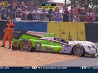 勒芒24小时耐力赛:48号赛车冲出赛道