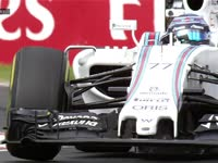 F1匈牙利站FP2:博塔斯飞过路肩
