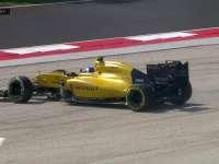 F1匈牙利站正赛:帕默尔滑出赛道