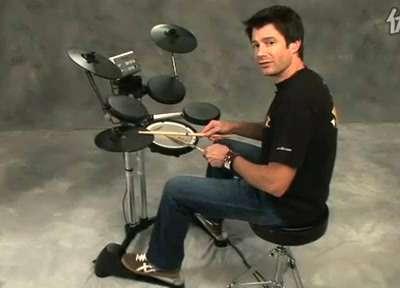 罗兰电爵士鼓教学视频 2
