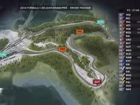 F1比利时站FP2全场回顾(GPS追踪)