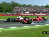 F1意大利站经典:2007年汉密尔顿强超莱科宁