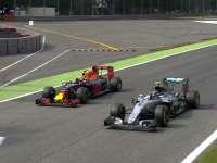 F1意大利站FP3:罗斯伯格弯中被挡挥手抱怨