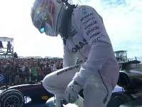F1美国站正赛赛后:汉密尔顿庆祝职业生涯50胜