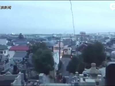 [视频]现场:日本发生7.4级地震 海啸警报长鸣震感强烈