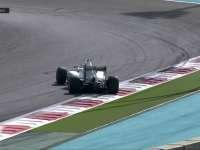 F1阿布扎比站FP1:汉密尔顿赛车甩尾调头