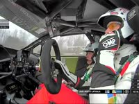 WRC瑞典站SS14:拉特瓦拉冲线表示受米克影响