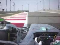 汉密尔顿车载镜头 解析巴林国际赛道弯道难点