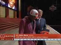 NFL2017选秀大会第9顺位 约翰-罗斯(猛虎)