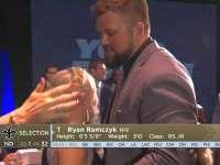 NFL2017选秀大会第32顺位 莱恩-拉姆泽克(圣徒)