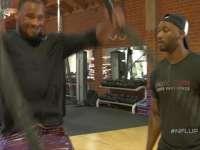 橄榄球身体训练课 手臂爆发力训练