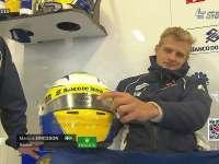 F1澳大利亚站FP2 埃里克森展示头盔小漫画