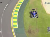 F1澳大利亚FP3 纳斯尔2号弯走大上草地