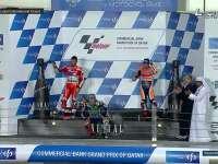 MotoGP 卡塔尔站正赛 颁奖台颁奖 洛伦佐冠军