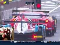 勒芒24小时耐力赛:乐视体育赛车队33号停站