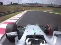 F1匈牙利站FP3:汉密尔顿走线失误大锁死