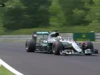 F1匈牙利站FP3:汉密尔顿冲出赛道