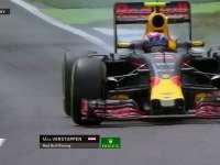 F1德国站FP2:维斯塔潘严重锁死杀轮胎
