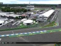 F1德国站正赛:罗斯伯格进站换超软拼速度