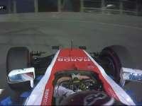 凶相!F1新加坡站FP1:维尔莱茵滑着就入弯了