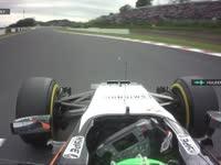 F1日本站FP2:霍肯伯格TR抱怨威廉姆斯挡路啦