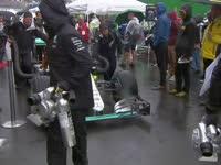 F1巴西站正赛:汉密尔顿表示赛道很危险