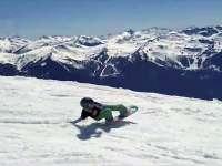 只要雪季不要趴中级篇 教你躺着就把雪滑了