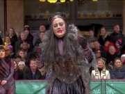 百老汇音乐剧《猫》在感恩节大游行上的表演