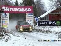 WRC瑞典站SS14:布林再创全场最快