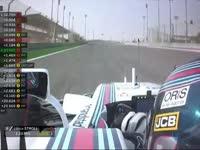 2017赛季F1巴林站第三次自由练习 全场录播