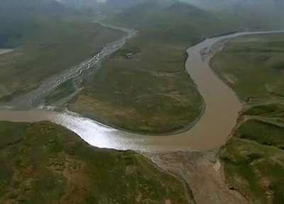黄河上游高清实拍视频素材—汇同资源网
