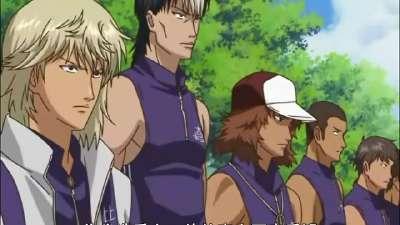网球王子全国大赛 06 被称为杀手的男人 (手冢 VS 木手)