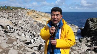 新岛!与南极的第一次零距离接触