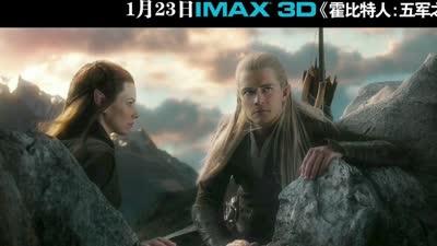 IMAX3D《霍比特人3:五军之战》165秒预告