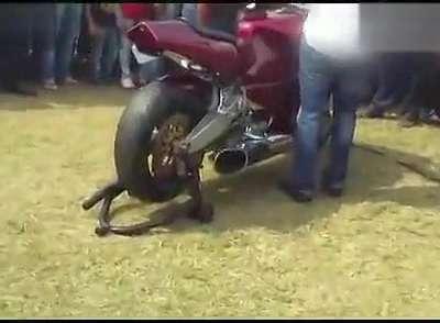 直升机引擎的摩托车 世界最销魂声浪