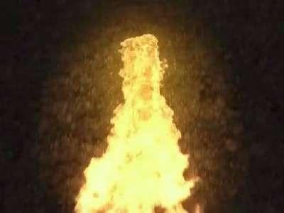 火柴点燃火焰logo标志展示模板