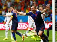 斯内德助弗拉尔破门 荷兰3-1暂时领先西班牙