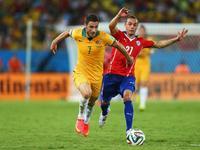 回放-智利3-1澳大利亚 桑切斯拔头筹博塞茹尔锁胜局