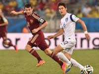 俄罗斯1-1韩国 门将脱手克尔扎科夫替补建功