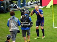荷兰3-2澳大利亚 罗本破门卡希尔世界波