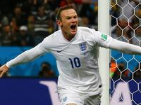 鲁尼攻入世界杯个人首球 英格兰1-1扳平比分
