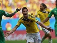 哥伦比亚2-1科特迪瓦 新星破门热鸟世界波