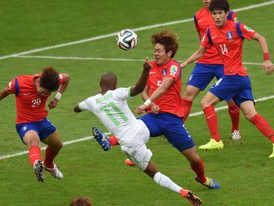 全场回放-韩国2-4阿尔及利亚 沙漠之狐32年再取胜