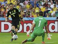 西班牙告别战3-0澳大利亚 比利亚破门托雷斯单刀