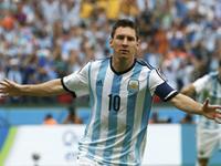 天使中柱梅西补射破门 阿根廷闪电进球开局完美