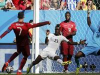 葡萄牙2-1加纳 C罗进球破球荒仍遗憾出局