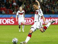 德国加时2-1阿尔及利亚 许尔勒厄齐尔双双破门