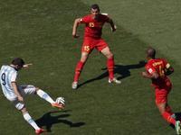 世界杯-阿根廷1-0比利时 伊瓜因抽射破门得分