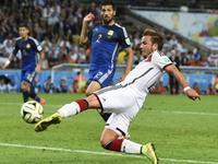 世界杯-格策加时绝杀 德国1-0阿根廷24年后再夺冠